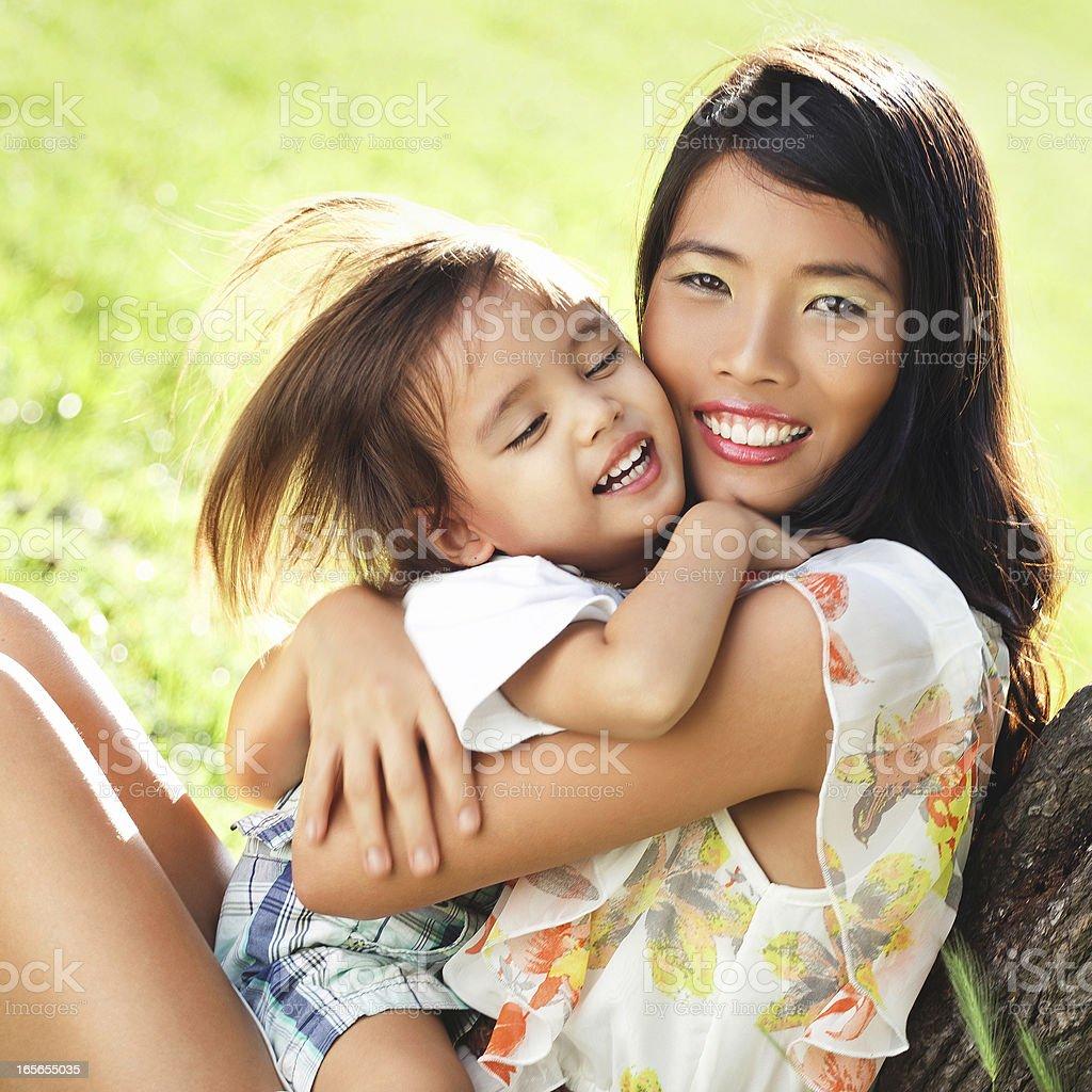 Motherly Love stock photo