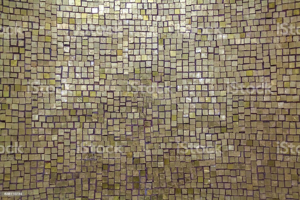 Mother-of-pearl mosaic background stock photo