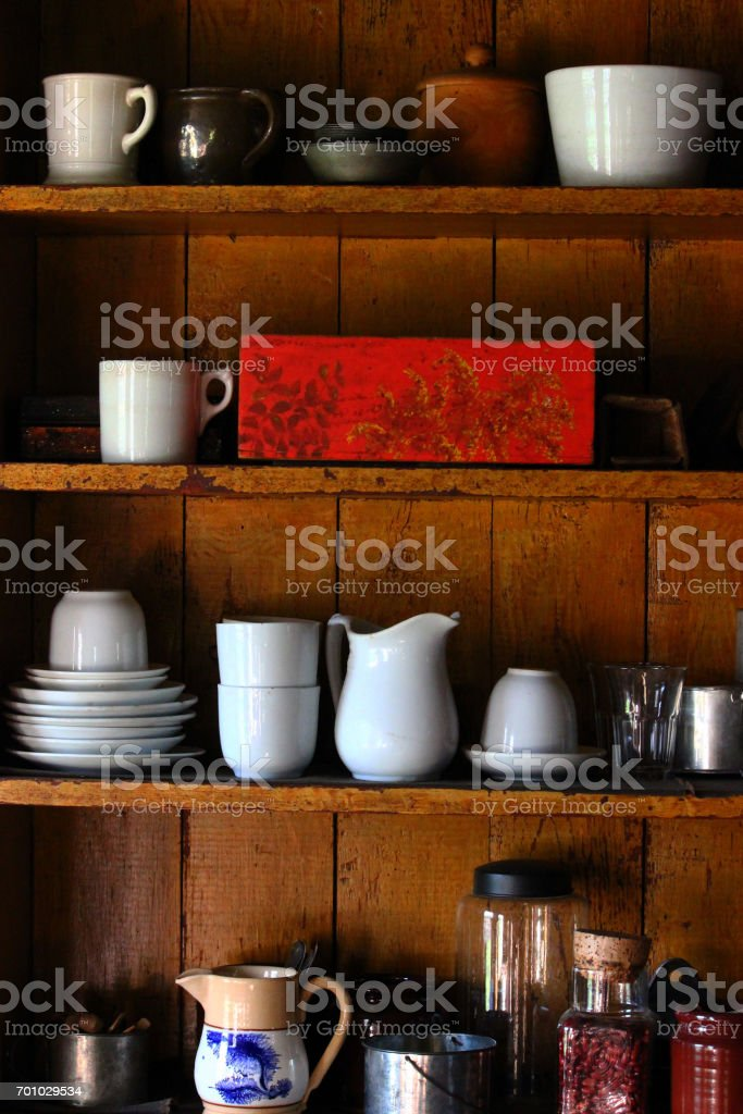 Mother's cupboard stock photo
