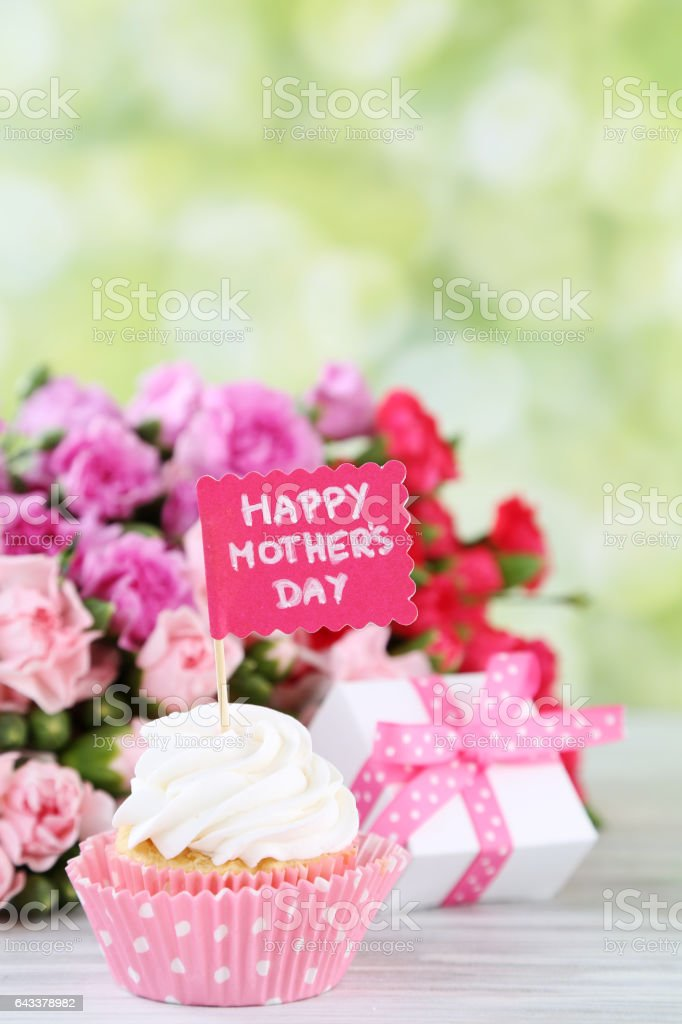 mother's day background stock photo