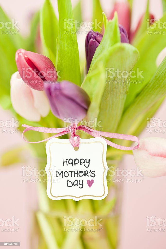 Mother's Day Bouquet royalty-free stock photo