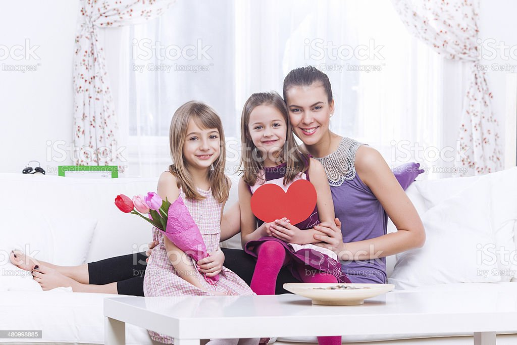 Mother's day celebration stock photo
