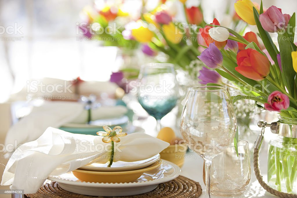 Mother's Day Dining stock photo