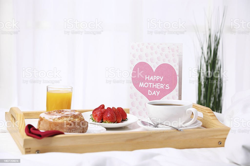 Mother's Day Morning royalty-free stock photo