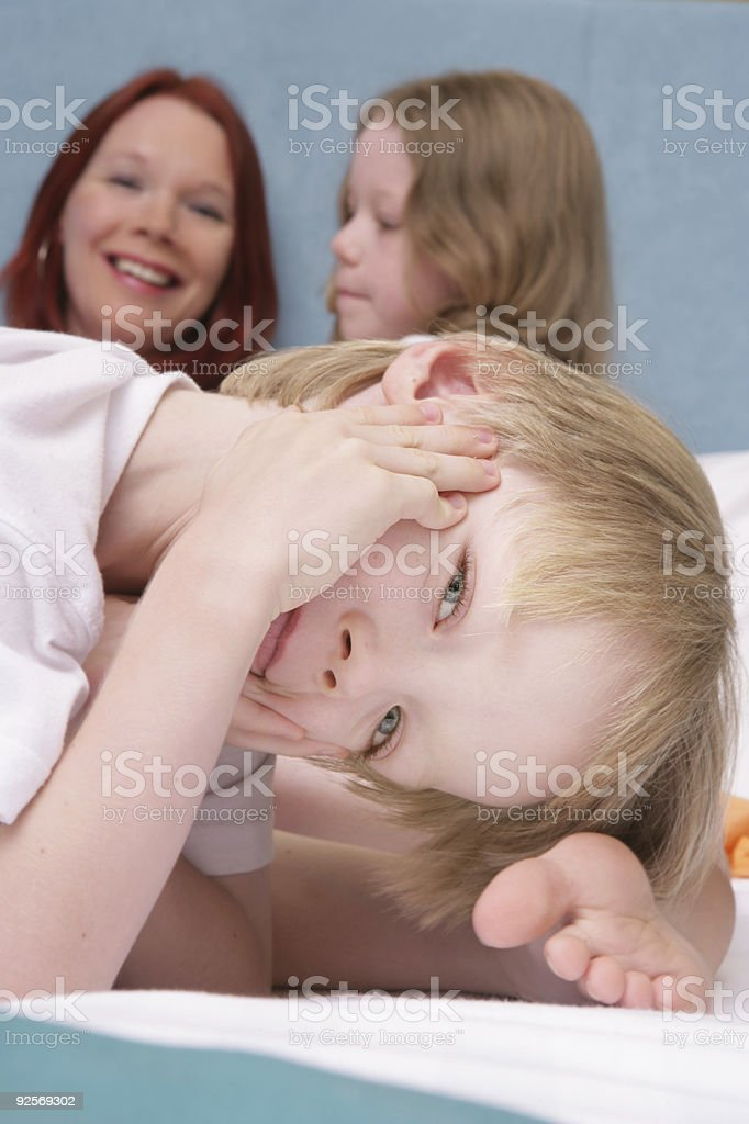 Mother's Day Morning stock photo