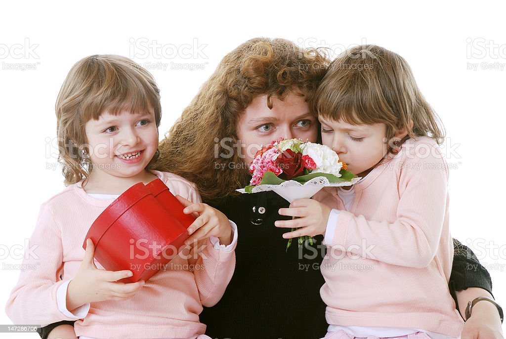 Mothers day royalty-free stock photo