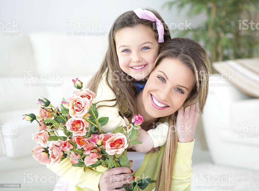 Mother's day. stock photo