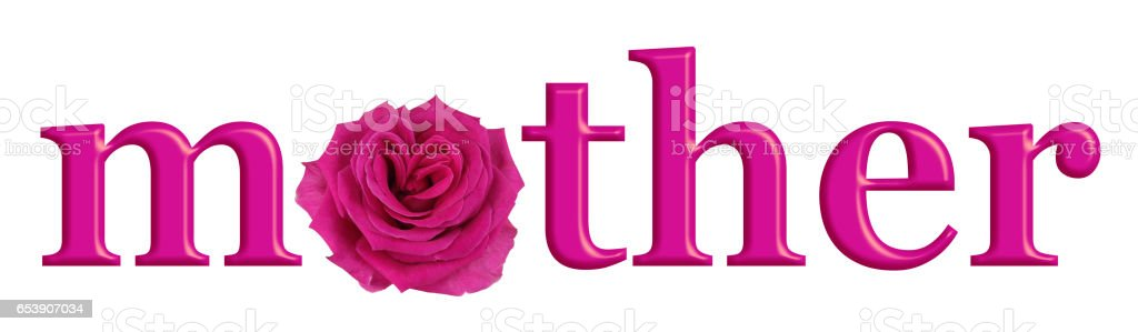 Mother's Day Special Pink Rose banner stock photo