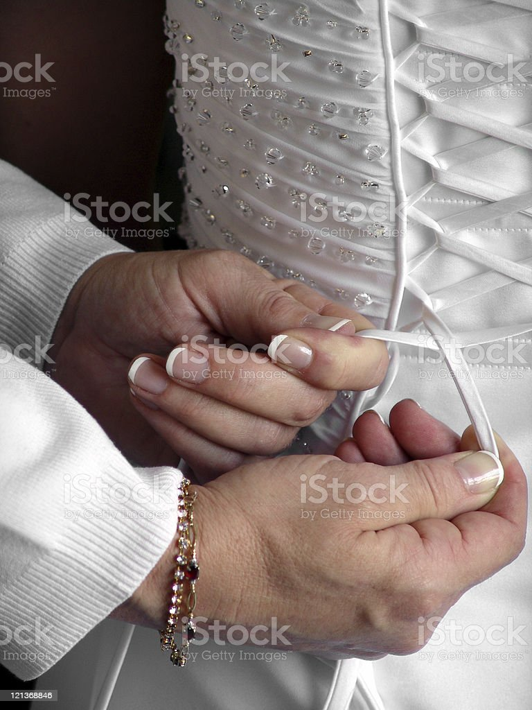 Mother's Hands royalty-free stock photo