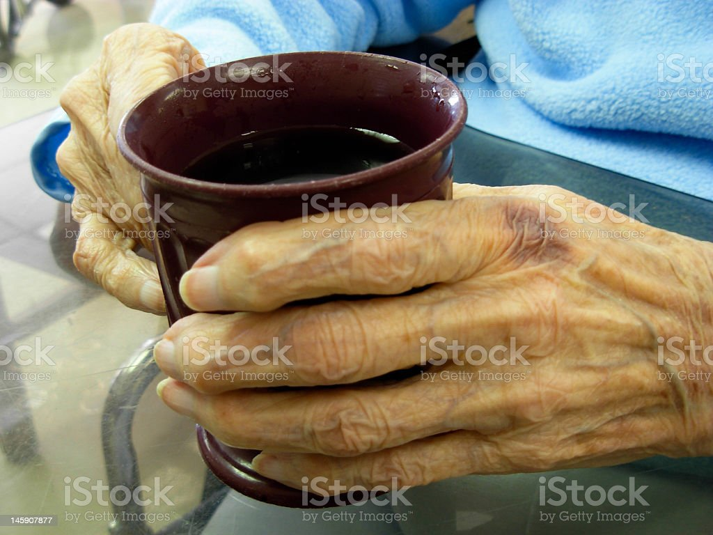 Mother's Hands stock photo