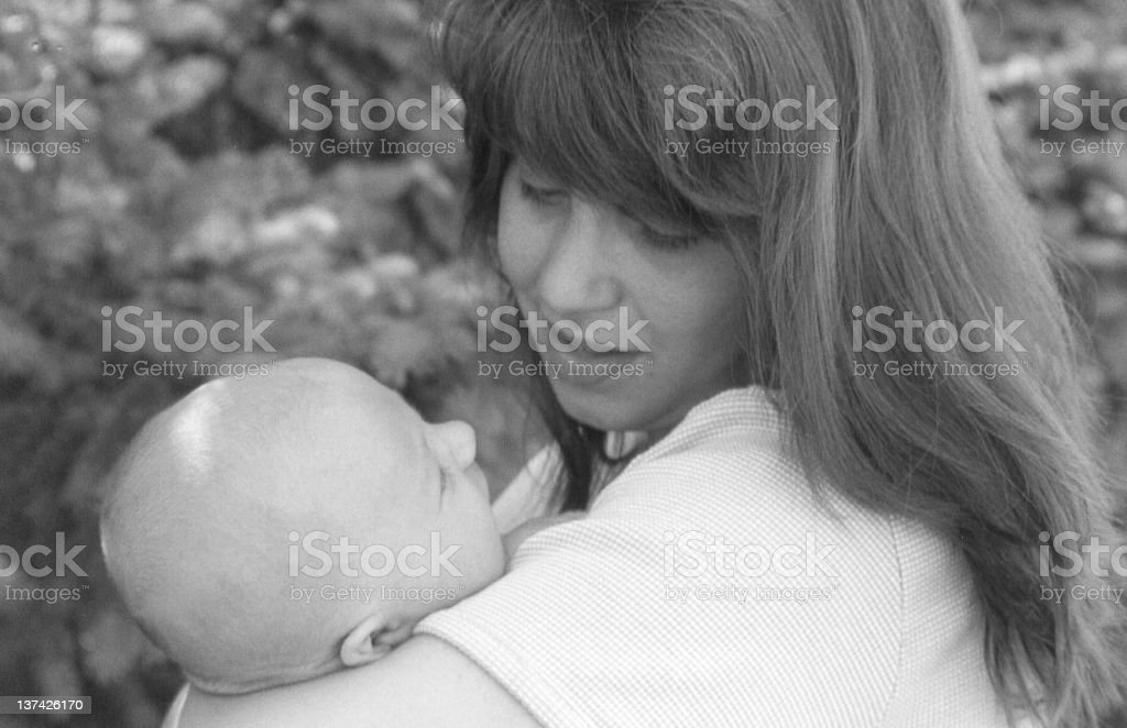 Mother's Love royalty-free stock photo