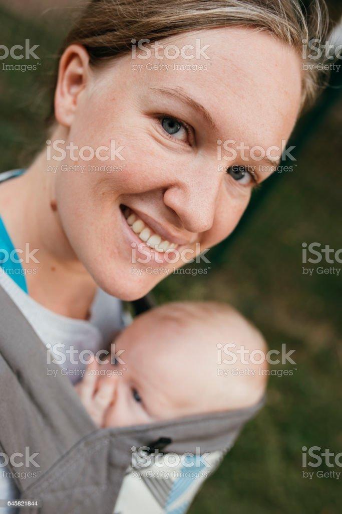 Mother's love stock photo