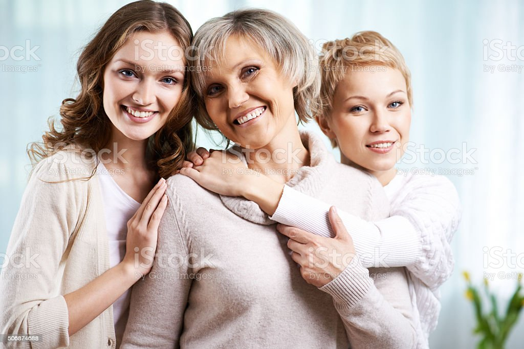 Mother's pride stock photo