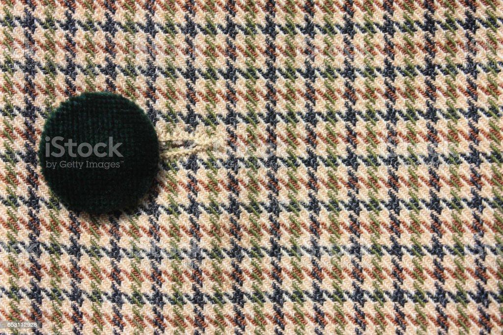 Motif pied de poule - style rétro stock photo