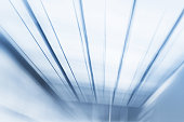 Motion Blur Abstract Background Blue