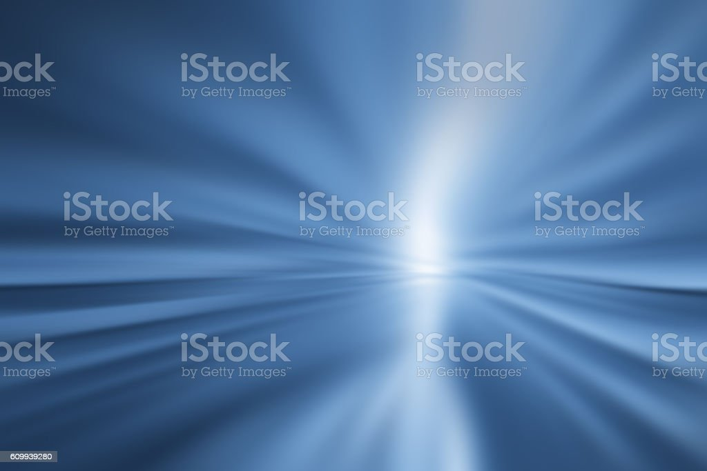 Motion Blur Abstract Background Blue stock photo