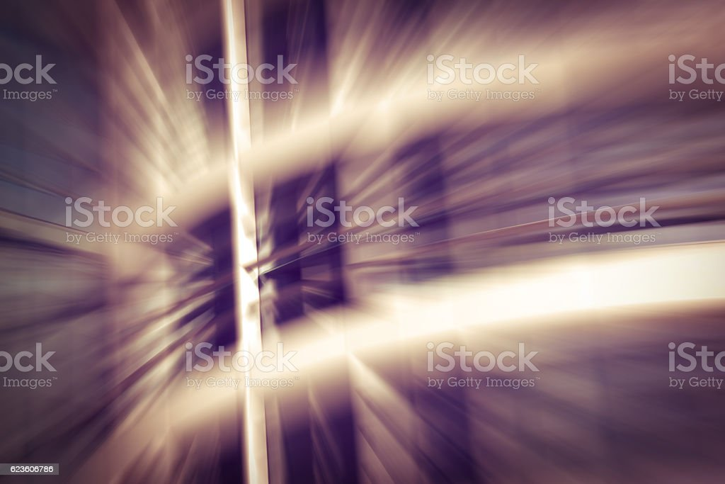 Motion Blur Abstract Background Brown Defocused Office stock photo