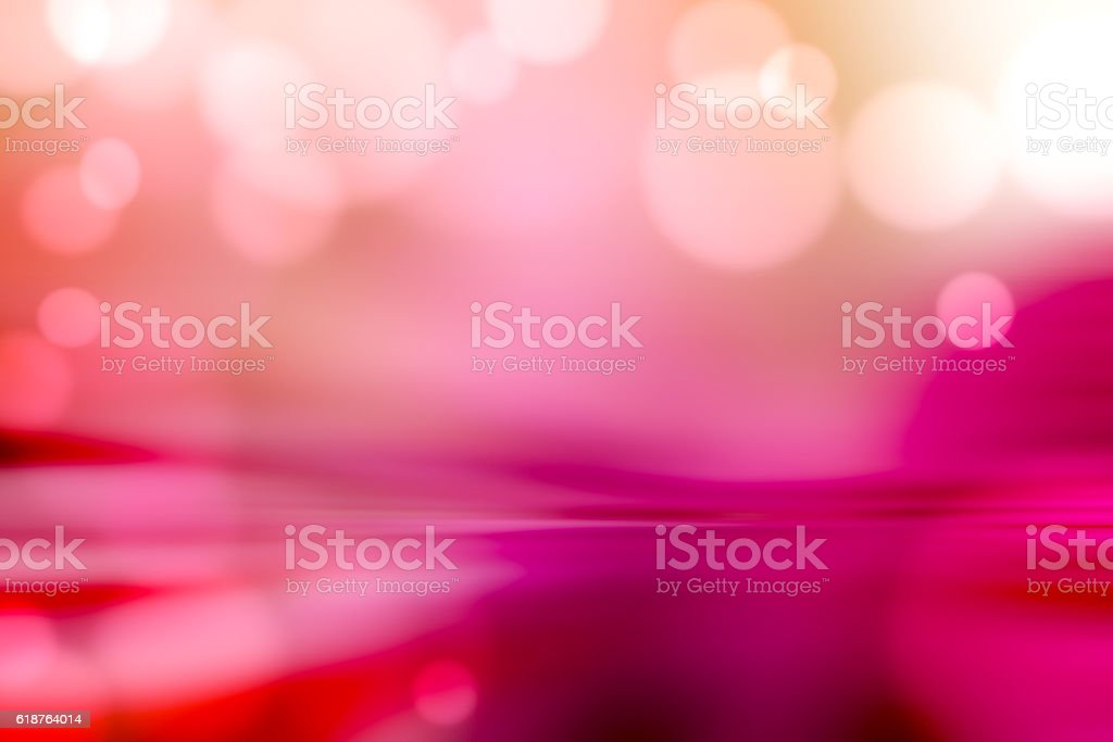 Motion Blur Abstract Background Red Pink with Bokeh stock photo