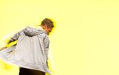 Motion blur - Man dancing