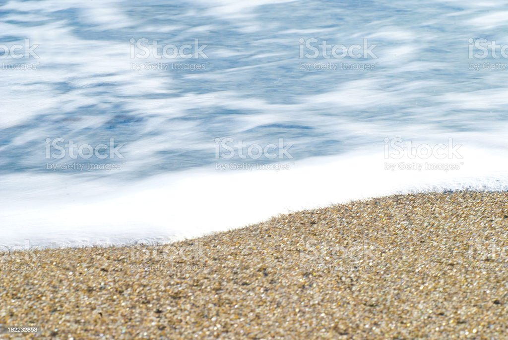 motion blur ocean background royalty-free stock photo