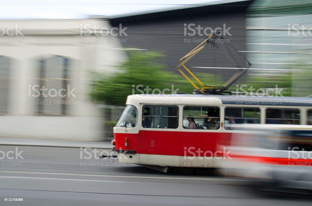Bewegungsunschärfe stock photo