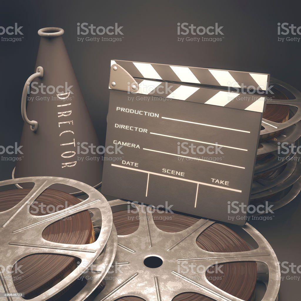 Motion Picture stock photo
