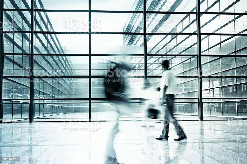 motion traveler stock photo