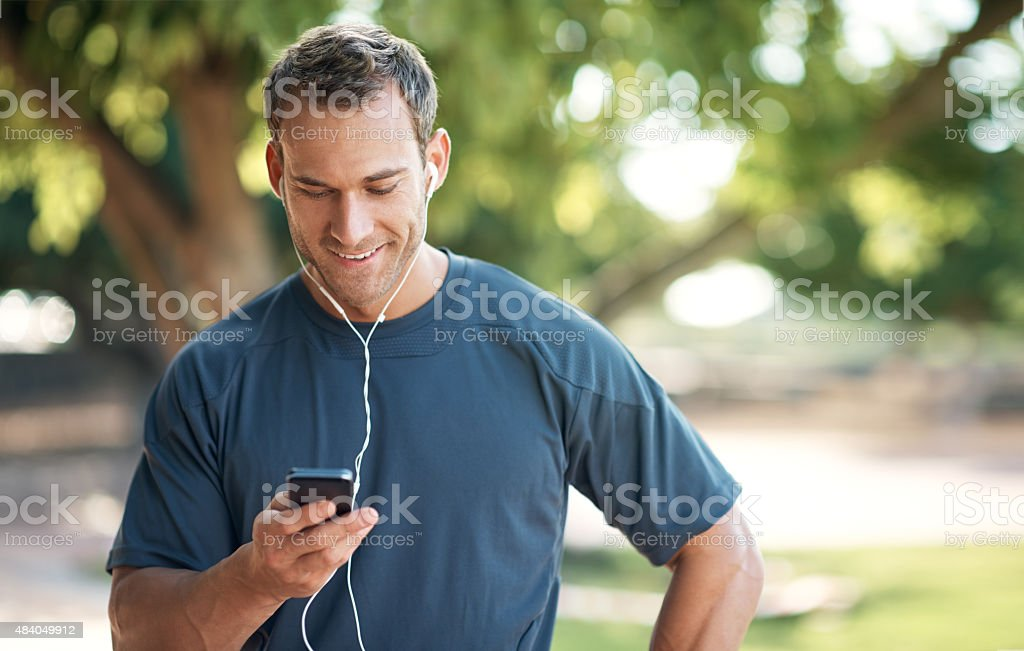 Motivated by music stock photo