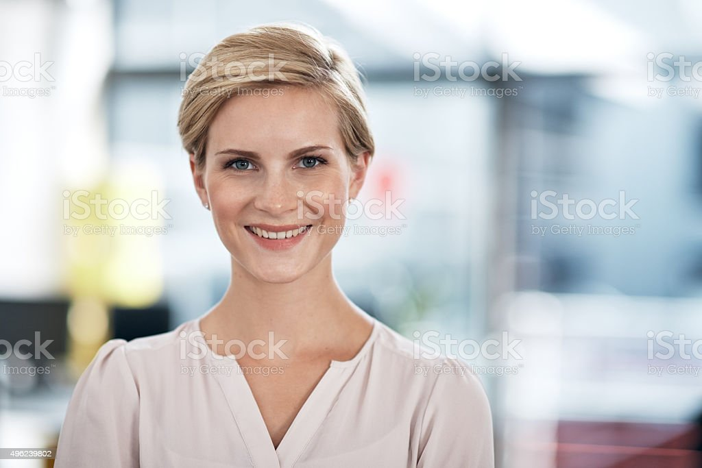 Motivated to succeed in my career stock photo