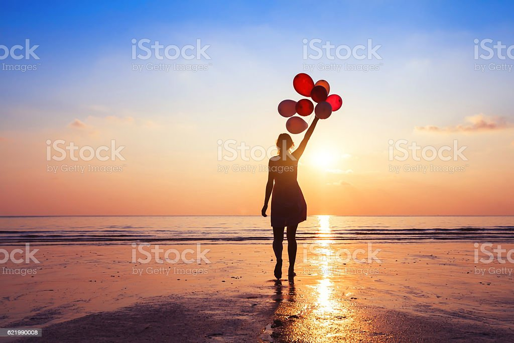 motivation or hope concept, follow your dream and inspiration stock photo
