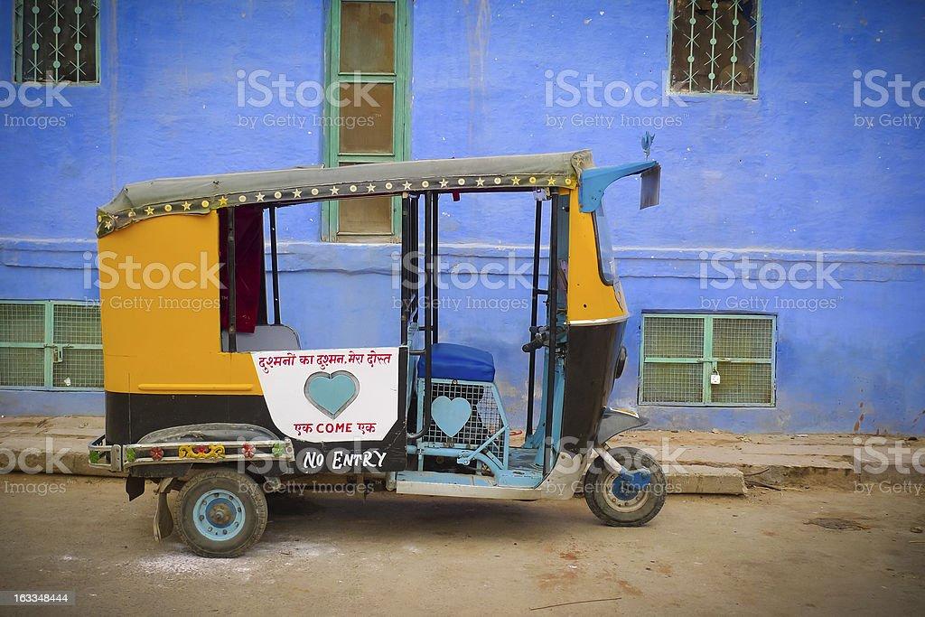 Moto rickshaw stock photo