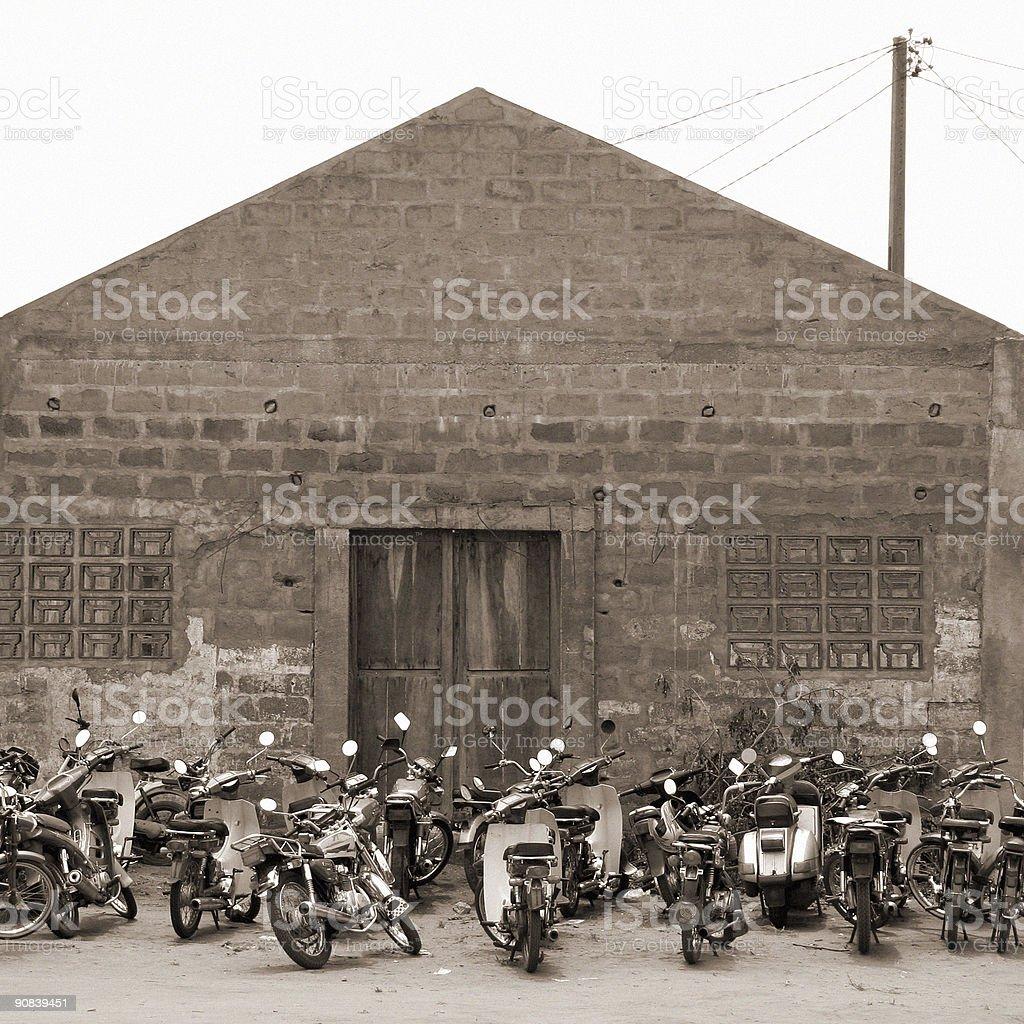 motobikes royalty-free stock photo