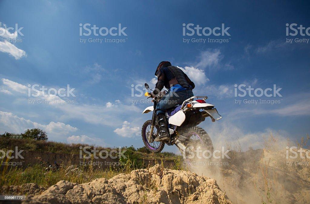 Motocross bike. stock photo