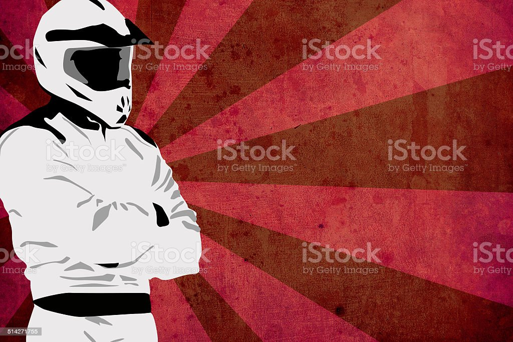 Motocross or quad background stock photo
