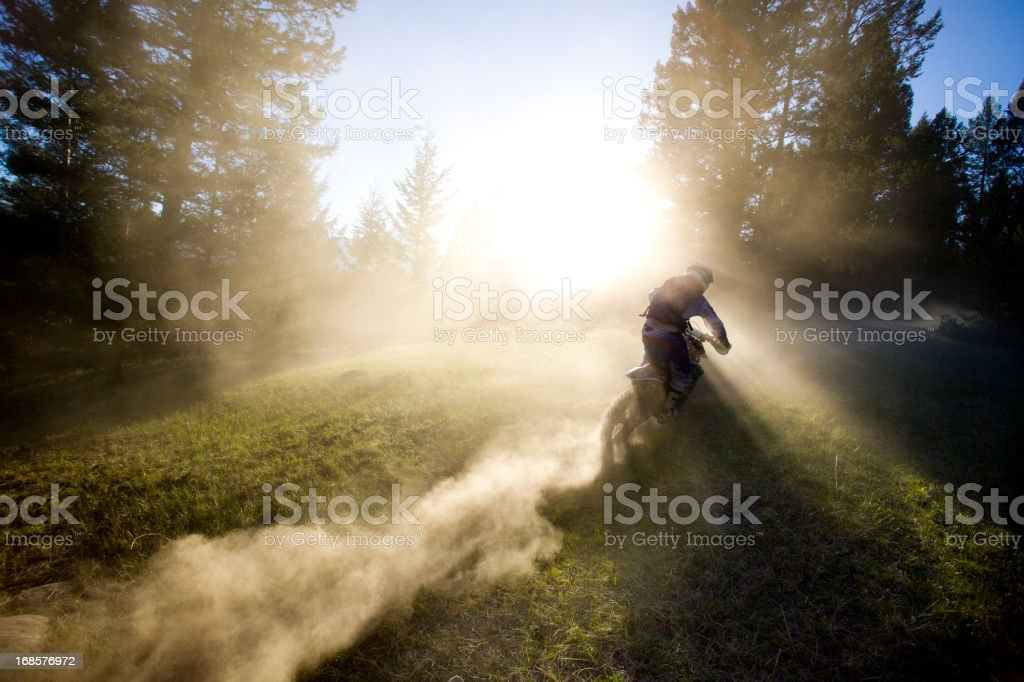 Motocross Rider Man stock photo