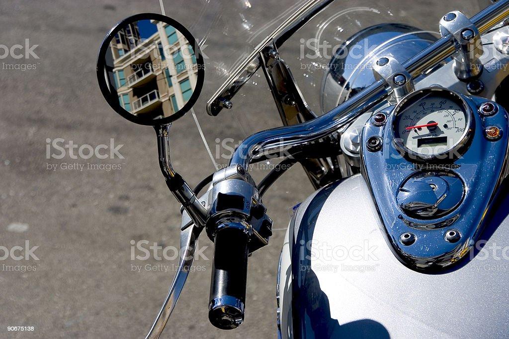 Motocycle Detail stock photo