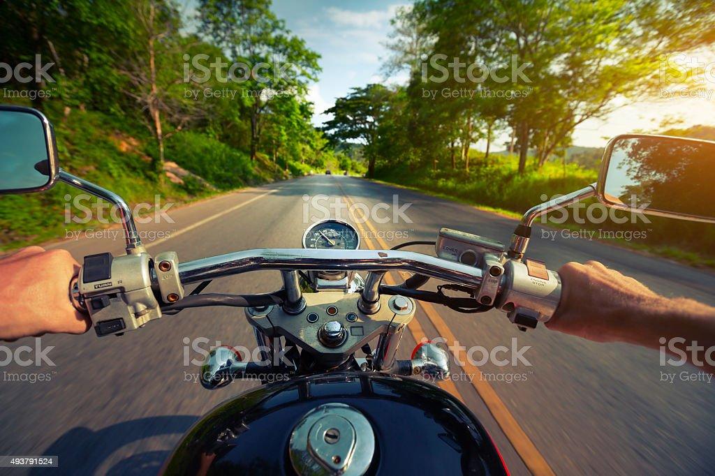 Motocycle stock photo
