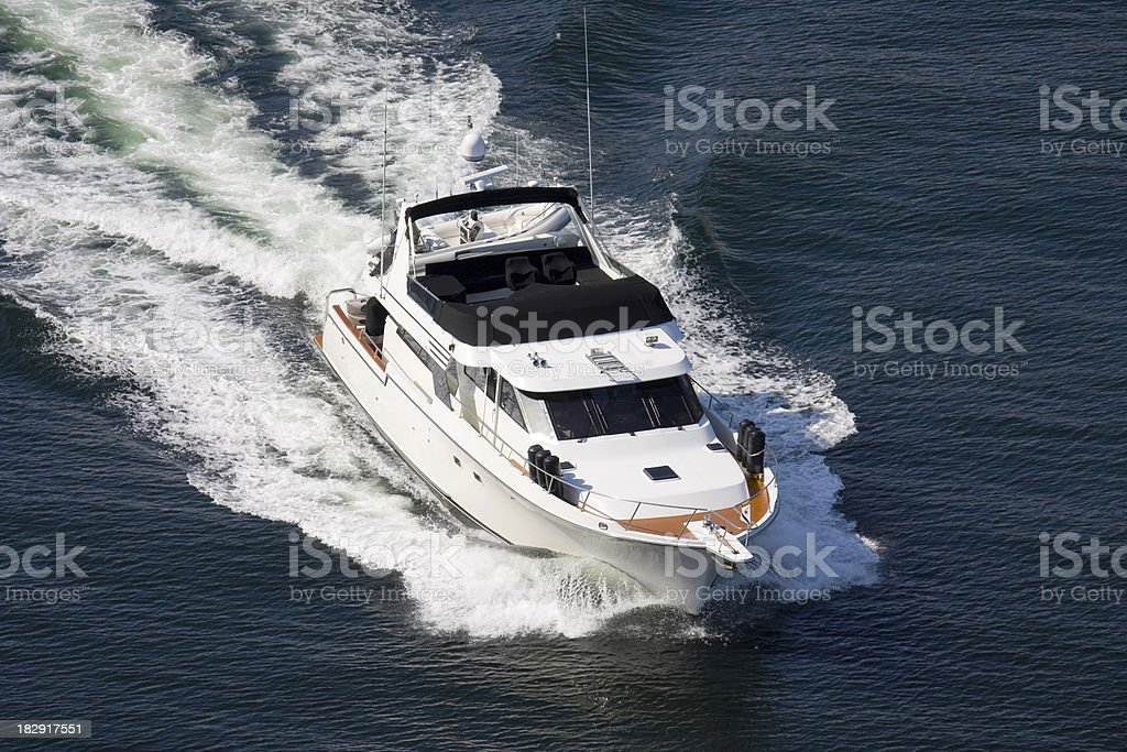 Motor Boat royalty-free stock photo