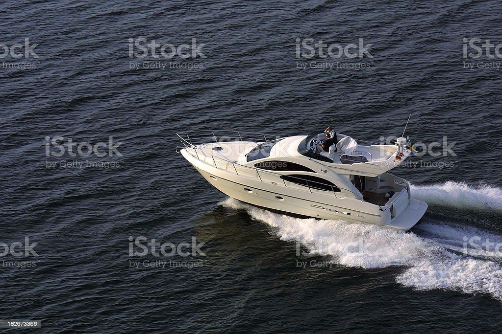 Motor Cruiser stock photo