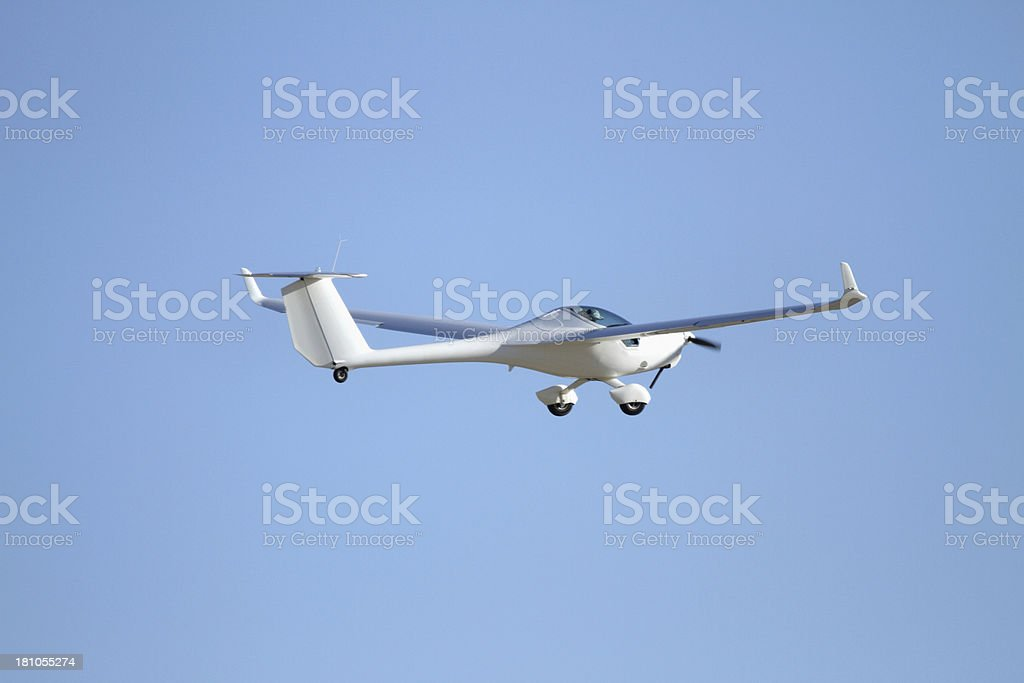 Motor Glider royalty-free stock photo