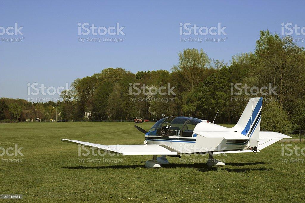 motor glider stock photo