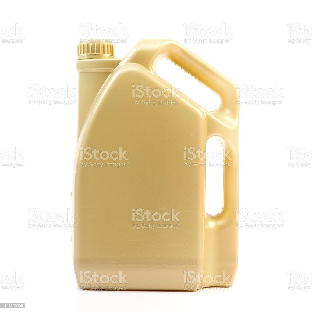Motor Oil Bottle stock photo