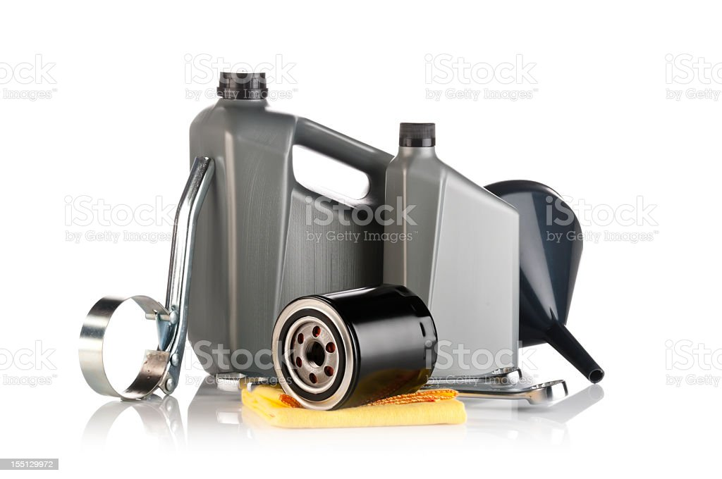 Motor Oil royalty-free stock photo