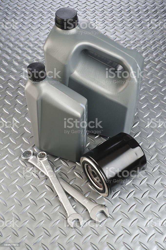Motor Oil royalty-free stock photo