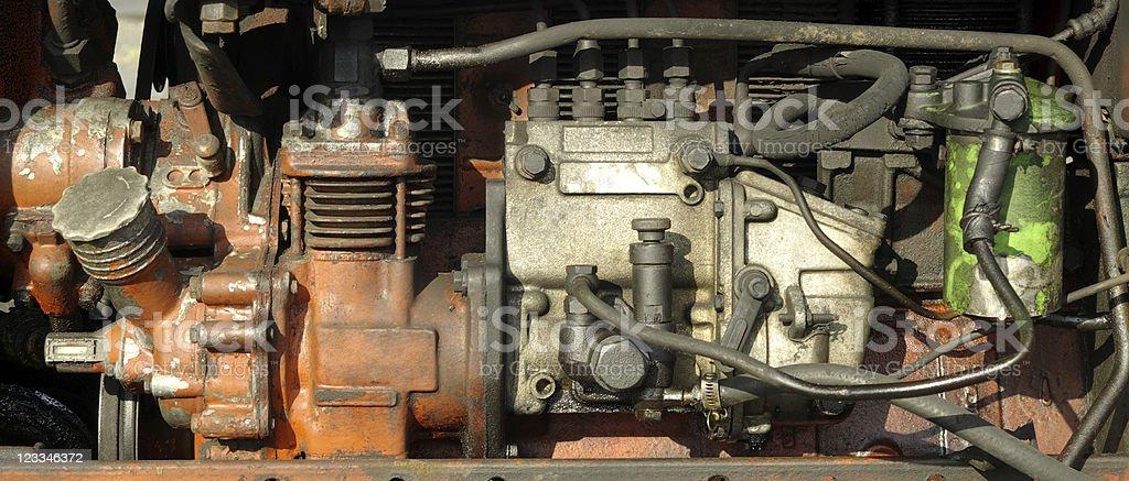Motor royalty-free stock photo