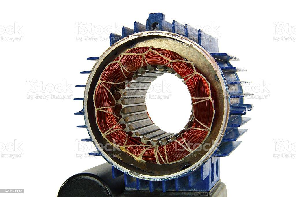 Motor (isolated) stock photo