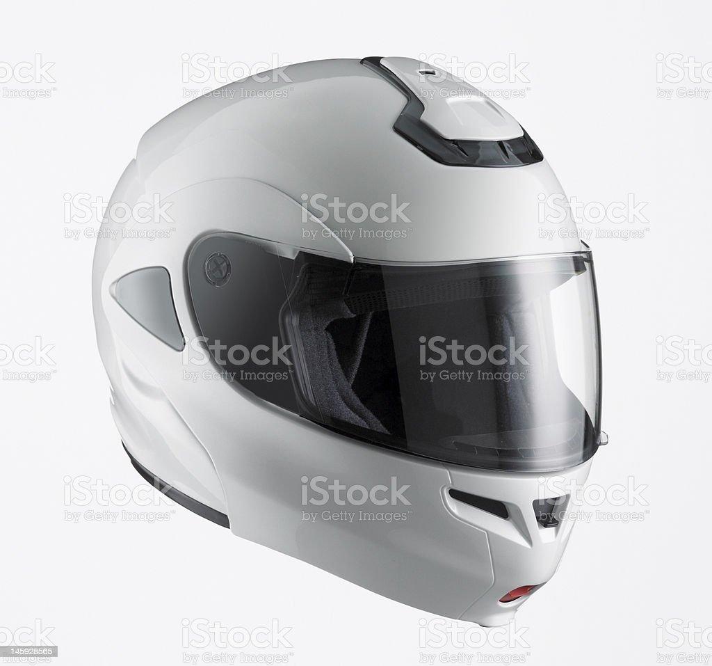 Motor Sports Helmet stock photo