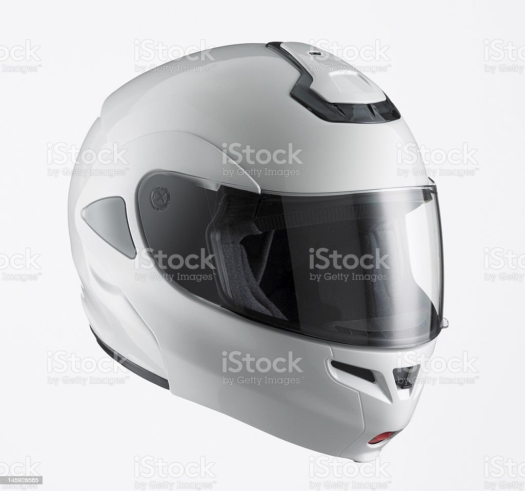 Motor Sports Helmet stock photo