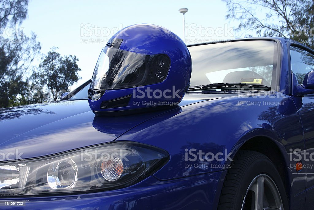 Motor Sports royalty-free stock photo
