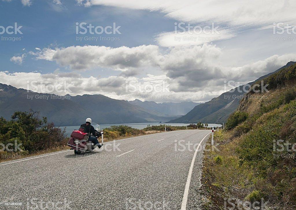 Motorbike Freedom stock photo